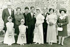 1970s Wedding Group