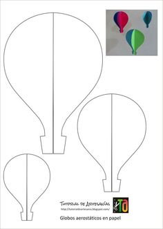The extraordinary Hot Air Balloon Drawing Template At Paintingvalley For Hot Air Balloon Template Printable digital photography below, is section … Air Ballon, Hot Air Balloon, Balloon Balloon, Balloon Ideas, Diy And Crafts, Crafts For Kids, Arts And Crafts, Balloon Template, Balloon Crafts