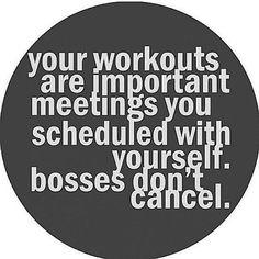 Penelope's Weekly Workout List – Workout like a BOSS.