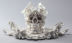 Katsuyo Aoki's porcelain skulls reminds us that life, and death, is beautiful.