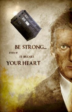 Some words of comfort from the Doctor...  #DoctorWho