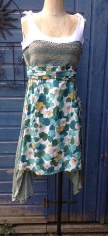 Shop for dress on Etsy, the place to express your creativity through the buying and selling of handmade and vintage goods. Florals, Liberty, Upcycle, Daisy, My Etsy Shop, Sun, Stuff To Buy, Vintage, Shopping