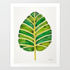 Elephant Ear Alocasia – Green Palette Art Print by Cat Coquillette. Worldwide shipping available at Society6.com. Just one of millions of high quality products available.
