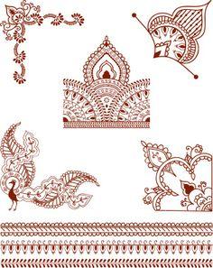 Henna design #13.