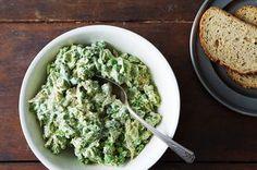Two-Pea Pesto Chicken Salad Recipe on Food52 recipe on Food52
