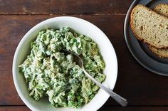 Two-Pea Pesto Chicken Salad Recipe on Food52 recipe on Food52