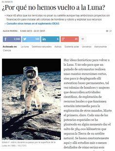 ¿Por qué no hemos vuelto a la Luna? / @materia_ciencia   #readyforinnovation