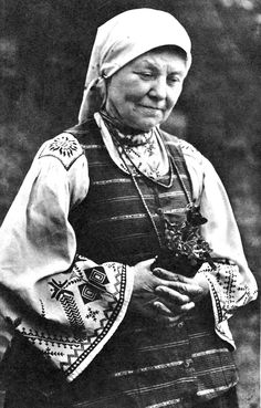 Kapsai region folk costume, Lithuania