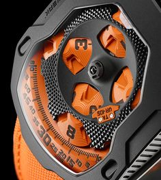 Details we like / Watch / orange / tecnical / Discs / Numbers / ar leManoosh : Photo