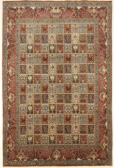 MOUD Orientteppich nomadisch traditionell  Teppich 301 x 200 cm Carpet