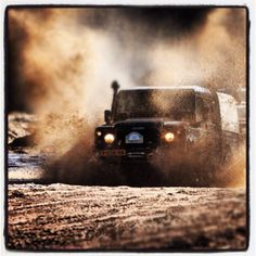 Off-roading! Yeah! Let's go and do it!