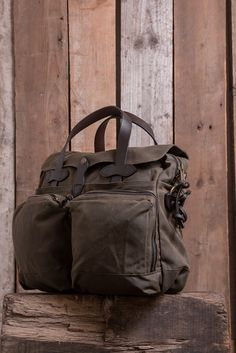 Filson 24-Hour Tin Briefcase - Otter Green - Bags - The Priory - 2