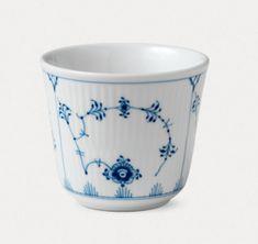 Royal Copenhagen - musselmalet riflet mug