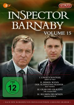 Inspector Barnaby, Vol. 15 [4 DVDs]: Amazon.de: John Nettles, Jane Wymark, Barry Jackson, Jason Hughes, Laura Howard, Daniel Casey, Kirsty Dillon, Neil Dudgeon, Fiona Dolman, Peter Smith, Renny Rye, Richard Holthouse, Sarah Hellings, Jeremy Silberston, Nicholas Laughland, Alex Pillai: DVD & Blu-ray