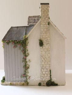 Cinderella Moments: Flamingo Cottage Custom Handmade Dollhouse