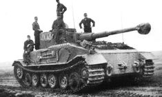 Tank 'Tiger' Commander's tank 003. This tank was lost in July 1944 during the retreat