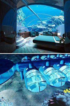 underwater hotel !!!