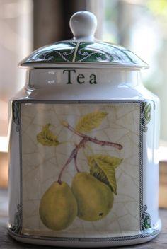 Arthur Wood Online Discount Arthur Wood Yellow Tea Storage Jar
