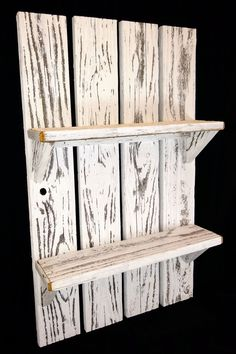 New Decor item! Come check out our new whitewash shelf and other items on our website. Reclaimed Barn Wood, Rustic Wood, Rustic Decor, Home Decor Signs, Cheap Home Decor, Rustic Planters, Interior Minimalista, Wall Crosses, Rustic Furniture