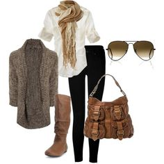 fall outfits polyvore | Great Fall Look in Clothing, Shoes & Accessories by Bettyblue