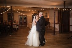 We love a daddy/daughter wedding.  Greenfield Village's Eagle Tavern