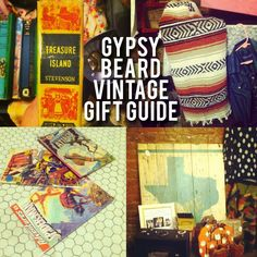 Gypsy Beard Studio Holiday Gift Guide For Vintage Lovers, Creatives and Nerds