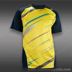 Wilson Cardiff Blur Stripe Crew-Sun Tennis Shirts, Tennis Clothes, Cardiff, Blur, Shop Now, Stylish, Mens Tops, Shopping, Fashion
