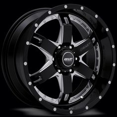 BMF Wheels has created a truly unique line of aftermarket truck wheels and truck rims for the off-road and lifted truck wheel enthusiast. Chrome Truck Wheels, Car Wheels, Black Wheels, Truck Rims And Tires, Rims For Cars, Black Truck, White Truck, Dodge Trucks, New Trucks