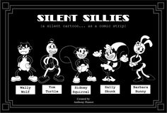 old black and white cartoons | is a comic strip inspired by the old black and white silent cartoons ...
