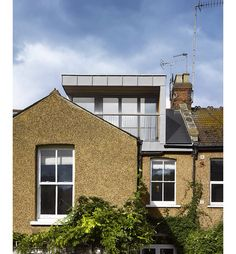 Large window loft extension. Andrew Mulroy architects