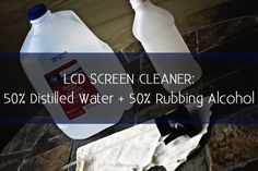 Electronics cleaner: 1/2 distilled water + 1/2 isopropyl (rubbing) alcohol (+ spray bottle + microfiber cloth or t-shirt scrap). Spray onto cloth and wipe screen/electronic. Good for phones, LCDs, Plasmas, glasses, tablet screens, computer screens, etc. --- I will never bother with another screen cleaner because this works perfectly for my smartphone, computer, and everything else.