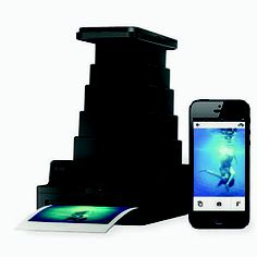 Just discovered the Impossible Lab. Turns your iPhone photos into prints, like a Polaroid. Rather an ambitious Christmas present but I want one!