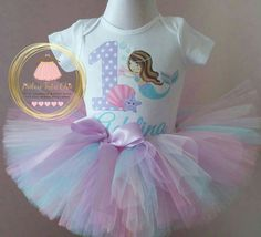 JAdore Tutu chic birthday outfits  ★★★ Please leave in the notes to seller section at checkout ★★★ 1. Name and age to be printed on to the