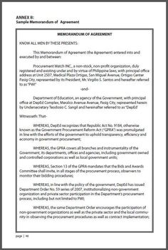 maintenance service template agreement maintenance contract