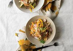 Soba noodles with al