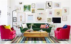Scarica sfondi mobili imbottiti, salone interno, tavolino, immagini