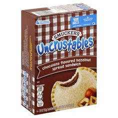 Chocolate Spread, Chocolate Hazelnut, Chocolate Flavors, Smuckers Uncrustables, Junk Food Snacks, Food Pack, Soup Kitchen, Hazelnut Spread, Desserts To Make