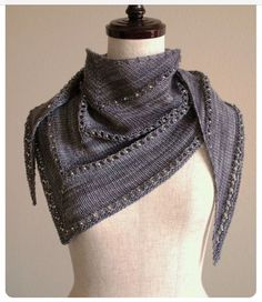 The Age of Brass and Steam Kerchief / Ravelry