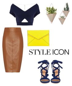 """Untitled #57"" by agnesenapoli on Polyvore featuring Bailey 44, Roland Mouret, Gianvito Rossi and Rebecca Minkoff"