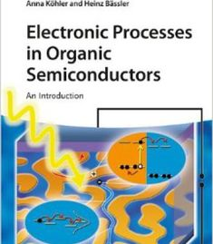 Electronic Processes In Organic Semiconductors: An Introduction PDF