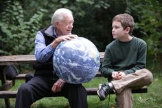 Jimmy Carter – Campaign Finance Is 'Legalized Bribery'  -  Jimmy Carter with his grandson Hugo