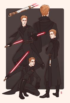 There's something really graceful about the reverse lightsaber grip that I think would suit Sith Hux well. Just like the General, he hates Ren's mask masks in general–he'd rather his enemy clearly see. Star Wars Concept Art, Star Wars Art, Star Trek, Bloodshot Eyes, Jedi Knight, Fan Art, Geek Out, Sith, Dark Side