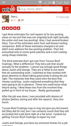 Need A Emergency Roof Repair?   Http://tucsonroofcoatingsllc.com/?pu003d920 ...  Roof Coating Tucson One Roof At A Time Tucson Roof Coatings LLC 520 31u2026