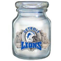 DET LIONS CANDY JAR