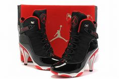 Michael Jordan 6 Ring High Heels on Pinterest | Nike Air Jordans, Jordan Heels and Michael Jordan