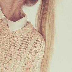 sweater collar♡