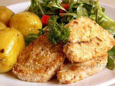 Gotowanie jest łatwe: Medaliony z piersi kurczaka w ziarnach sezamu i dy...