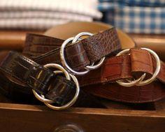 Double O-ring Crocodile belts...