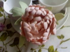 peonia in fommy  decorazioni pasquali