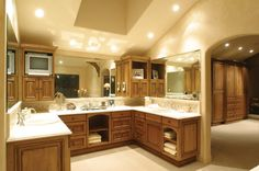 Chick Residence - mediterranean - bathroom - los angeles - by HartmanBaldwin Design/Build